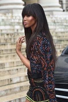 The 10 best beauty looks of the week featuring Bella Hadid, Naomi Campbell, Rihanna, and more. Celebrity Beauty, Celebrity Style, Celebrity Dresses, Black Supermodels, Haute Couture Fashion, Beautiful Black Women, Hair Makeup, Hair Beauty, Long Hair Styles