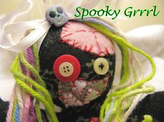 One of my latest creations! Sock zombies are spooky cute and one-of-a-kind. Each zombie is cut and stitched by hand so they will be as unique as you are! They are also scented, because no one wants to snuggle a stinky zombie. ;)  Custom zombies are always available!  Please note that these do...