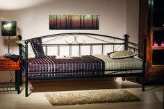 postel, jednolůžko Famm Ankara, cm s roštem, černá Trundle Mattress, Daybed Bedding, Pop Up Trundle, Ankara, Folding Beds, Bed Sizes, Bed Covers, Colors, Homes