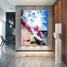 Extra Large Wall Art Original Handpainted Contemporary XL Abstract Painting Horizontal Vertical Huge Size Art Bright and Colorful Texture Painting On Canvas, Large Painting, Canvas Paintings, Abstract Paintings, Portrait Paintings, Extra Large Wall Art, Large Art, Canvas Wall Art, Wall Art Prints