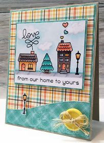 Melissa Made: From Our Home to Yours - Lawn Fawn Challenge
