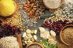 Seeds, Including Black Sesame, Flax, Sunflower, Pumpkin, and Chia