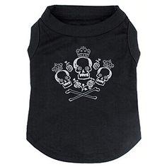 BINGPET Skull Flowers Crown Printed T shirt Summer Clothe... http://www.amazon.com/dp/B01BEN9LH4/ref=cm_sw_r_pi_dp_3tZhxb0JEEN0W  48 each