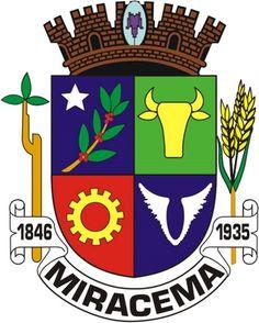 Miracema Coat of Army - Brazil
