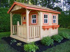 DIY Designs - Kids Pallet Playhouse Plans   Wooden Pallet Furniture   We Heart It