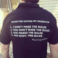This is wonderful | This Feminist Father Has The Best T-Shirt You'll See All Day