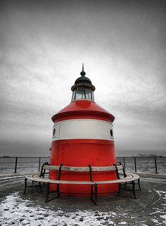 At the end of the pier, Langelinie, Copenhagen, Denmark