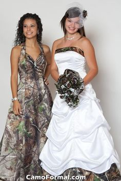 The wedding dress is hideous enough. But I would be SO PISSED if the bride made me wear that bridesmaid dress. No one would even see me!   @Courtney Megan