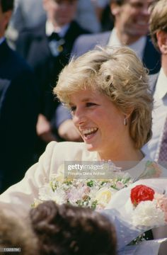 News Photo : Diana, Princess of Wales during a visit to. Diana, Princess of Wales during a visit to Liverpool, August She is wearing a dress by Victor Edelstein. Lady Diana Spencer, Princess Charlotte, Princess Of Wales, Real Princess, Princess Kate, Duke And Duchess, Duchess Of Cambridge, Diana Memorial, Diana Williams
