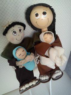 bonecos santo antonio para buque.  vendido a unidade. 2 tamanhos e modelos
