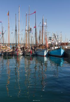 Brest, 2 Photos, Sailing Ships, Urban Exploration, Lens Flare, Boating, Brittany, Travel, Tall Ships