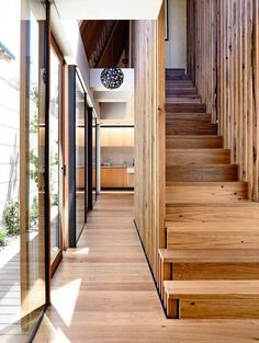 tallowwood floor - stairs | schulberg demkiw architects