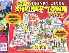 3-D Shrinky Dinks: Town Farm