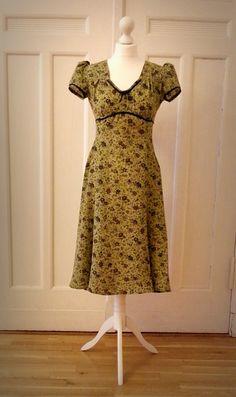 Kleid Madeleine in grün