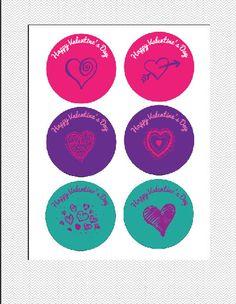 INSTANT DOWNLOAD Customizable Valentine Days by JMWxDigitalDesigns