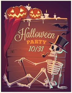 Halloween 2013. Cards and invitations on Behance
