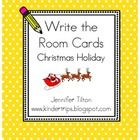 Use these write the room cards to help celebrate the holiday!...