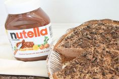 No-Bake Nutella Cheesecake is made with only 6 ingredients for a frozen chocolate dessert worth gawking over!
