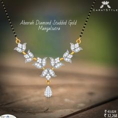 Because your story matters, tell it with this stunning #mangalsutra.  #diamond…