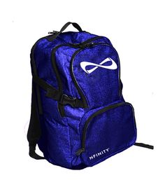 I love my blue Nfinity sparkle backpack!!! I can't wait to use it again this weekend!