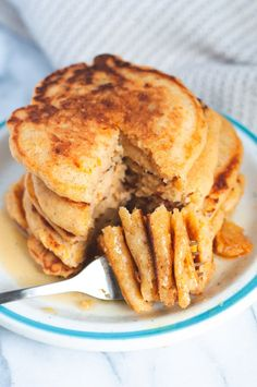 Vegan Waffle Mix Recipe, Waffle Recipe Without Milk, Waffle Batter Recipe, Waffle Mix Recipes, Banana Recipes, Pumpkin Recipes, Vegan Pumpkin, Sweet Potato Pancakes Vegan, Sweet Potato Dishes
