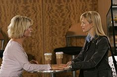 Meredith Baxter and Kathryn Morris in Cold Case Cold Case Tv Show, Meredith Baxter, Kathryn Morris, Most Favorite, Picture Photo, Tv Shows, Lily, People, Pictures