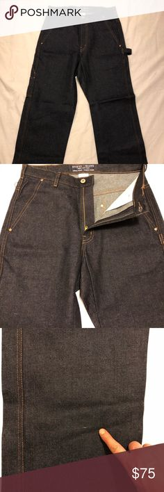 ccbe3f38367 Vintage 80s Guess Jeans Made In USA-baggy In new condition they came from  Denim
