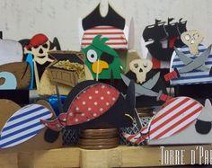 Piratas [forminhas de doces]