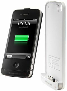 Diweinuo D4-C 2200mAh Backup Power Supply Case for iPhone 4/4S – Black $13.49