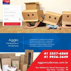 http://aggiomudancas.com.br NÃO TEM TEMPO PARA ORGANIZAR SUA MUDANÇA? Seus…