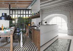 carrelage ciment cuisine - Recherche Google