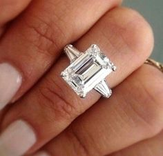 Emerald Engagement Rings Design Your Own Vintage Emerald Cut Engagement Rings Uk Emerald Cut Rings, Emerald Cut Diamonds, Diamond Rings, Diamond Cuts, Solitaire Rings, Solitaire Diamond, Ruby Rings, Buy Diamonds, Sapphire Rings