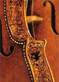 ornate violin