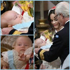 Prince Gabriel receiving the order of Seraphim #babyboy#royalbaby#littleprince#littleboy#kingcarlgustaf#princegabriel#prinsgabriel#prinsessansofia#swedishroyals#swedishroyalfamily#swedishbaby#order#ducato#royals#royalty#likefollow#followlike#christening