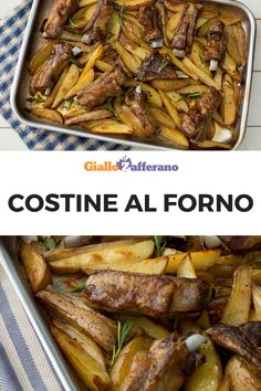 Baked spare ribs-Costine al forno BAKED RIBS: a succulent second course, one of. Baked spare ribs-Costine al forno BAKED RIBS: a succulent second co Baked Spare Ribs, Baked Ribs, Oven Baked, Italian Meat Dishes, Italian Recipes, Rib Recipes, Cooking Recipes, Rib Meat, Cheap Meat