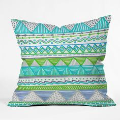 Lisa Argyropoulos Ocean T 1 Throw Pillow   DENY Designs Home Accessories