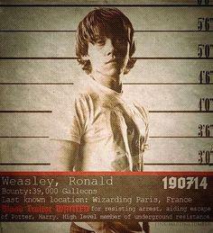 Weasley mug shot