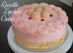 Rosette Lychee Cake