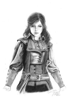 Elise de la Serre - Assassin's Creed Unity.
