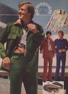 Put Togethers ~ 35 Bitchin' 70s Mens Fashions
