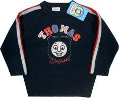 Haine Copii - Bluza tricotata oficiala Thomas, 100% acrilic. Sweaters, Fashion, Character, Moda, Fashion Styles, Sweater, Fashion Illustrations, Sweatshirts, Pullover Sweaters