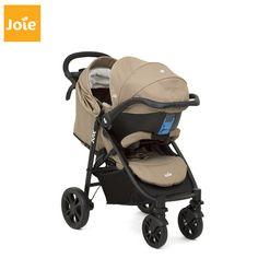 Joie Litetrax 4 Wheel Stroller Grey Chromium 2019 Pushchair