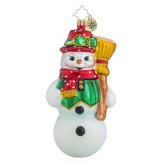 """Christopher Radko Ornament - """"Dressed To Chill"""""""