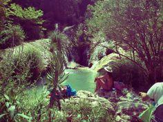 Waterfalls in Koroni , Greece
