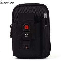 Soperwillton Brand Waist Packs Oxford 1680D Fashion 2017 Waist Bag Mobile Phone Bag Fanny Pack With Pen Hold Black Purse #J100 //Price: $23.03 & FREE Shipping //     #Clothing