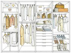¿Abierto o cerrado?. Un armario abierto siempre es más cómodo: tendrás más…
