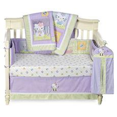 Purple Hello Kitty Crib Bedding Set