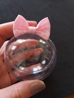 Faça você mesmo / DIY: Lembrancinha Minnie Rosa ⋆ GRAVIDICAS Minnie Mouse Party, Mouse Parties, Mickey Mouse, Toddler Valentine Crafts, Toddler Crafts, Mini Marshmallows, Mini Cones, Milena, Baby Party