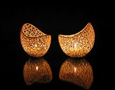 Filigree double wall tealight holder printed Shapeways prints with White Strong and Flexible Polished 3d Printing Business, 3d Printing Diy, 3d Printing Service, Led Tealight Candles, Tea Light Candles, Tea Lights, Impression 3d, Diy 3d, 3d Printer Designs
