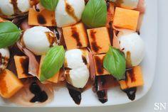 Melon & Prosciutto Salad | Sincerely Nourished